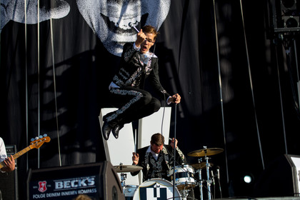 live am festivalsamstag in neuhausen ob eck - Southside Festival 2013: Fotos von The Hives